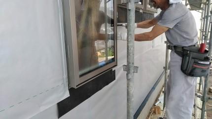 雨仕舞を配慮して取り付けられています。田村市船引町|郡山市 新築住宅 大原工務店のブログ