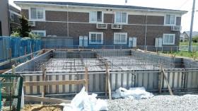 コンクリート打設前です。郡山市富田町|郡山市 新築住宅 大原工務店のブログ