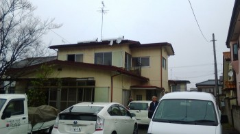 解体工事終わりました。郡山市昭和の新築住宅、I様邸です。