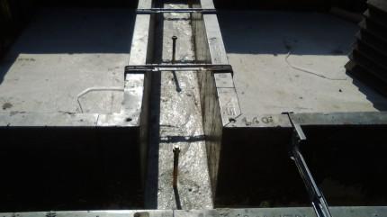 立ち上がりコンクリート打設 郡山市 新築注文住宅 基礎工事