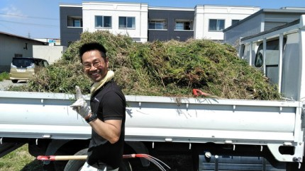 草集めです。|郡山市 新築住宅 大原工務店のブログ