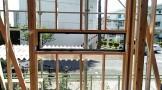 サッシが入りました。郡山市大槻町|郡山市 新築住宅 大原工務店のブログ