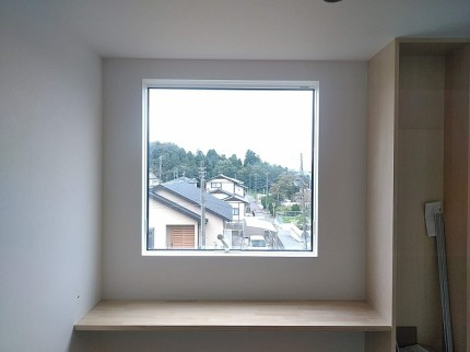 2階にあるフリースペース部分です。郡山市田村町|郡山市 新築住宅 大原工務店のブログ
