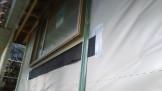 郡山市富田町新築工事にて外壁工事の下地処理 | 郡山市 新築住宅 大原工務店のブログ