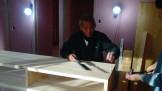新築住宅のテレビボード作成です。|郡山市 新築住宅 大原工務店のブログ