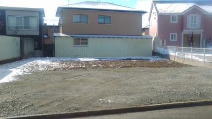 コチラの土地に新築注文住宅を建築します。郡山市大槻町|郡山市 新築住宅 大原工務店のブログ