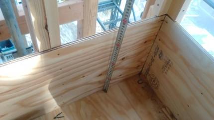 新築のFRP防水下地です。|郡山市 新築住宅 大原工務店のブログ