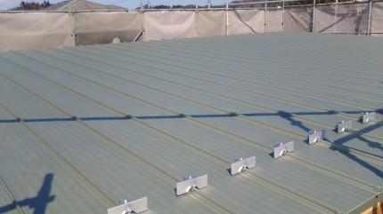 ガルバリウムの屋根 | 郡山市 新築住宅 大原工務店のブログ