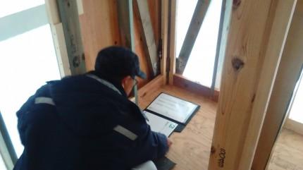 郡山市大槻町H様邸で上棟検査を受けてきました | 郡山市 新築住宅 大原工務店のブログ