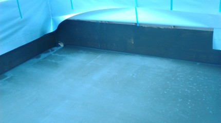 FRP防水と外壁シートも見てもらいました。 | 郡山市 新築住宅 大原工務店のブログ