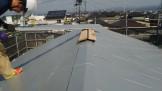 ガルバリウム鋼板の屋根です。 | 郡山市 新築住宅 大原工務店のブログ