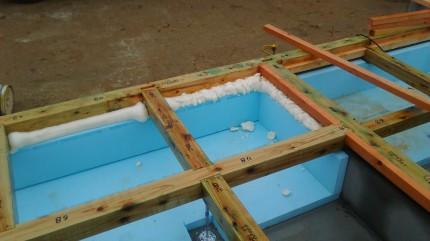 断熱材がしっかり施工されてます。 | 郡山市 新築住宅 大原工務店のブログ