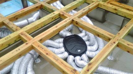 換気システムのチャンバー | 郡山市 新築住宅 大原工務店のブログ