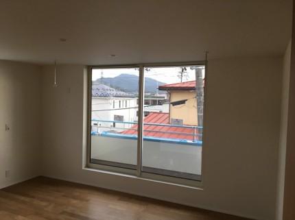 クロス施工後の様子です。福島県会津若松市|郡山市 新築住宅 大原工務店のブログ