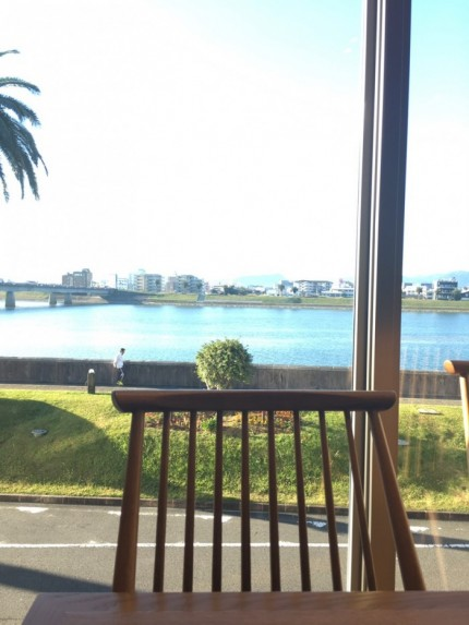 朝食ビュッフェの会場は海が見えました。宮崎県宮崎市| 郡山市 新築住宅 大原工務店のブログ