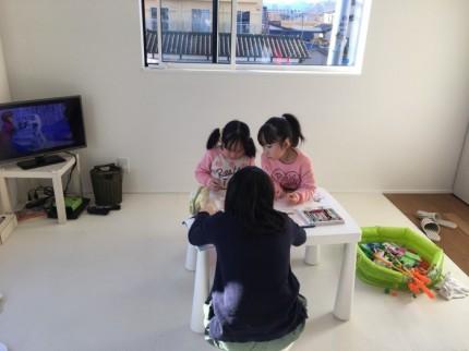 「Life Box」見学会キッススペースの様子|郡山市 新築住宅 大原工務店のブログ