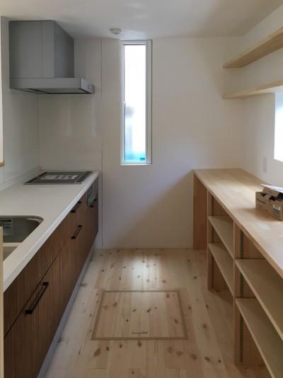 郡山市亀田T様邸キッチン|郡山市 注文住宅 大原工務店のブログ