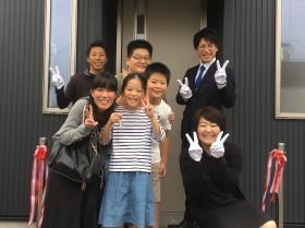 最後に、みんなで記念撮影です。田村市船引町|郡山市 新築住宅 大原工務店のブログ