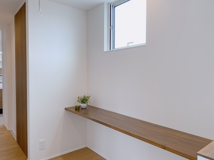 お客様邸の2階フリースペースです。| 郡山市 新築住宅 大原工務店のブログ