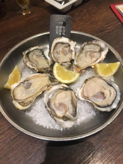 生牡蠣をたべてきました。東京都浜松町|郡山市 新築住宅 大原工務店のブログ