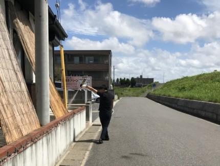 虫退治中|郡山市 注文住宅 大原工務店のブログ