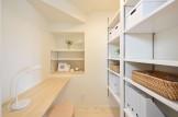 今回見学会を行ったお客様邸の家事室です!| 郡山市 新築住宅 大原工務店のブログ