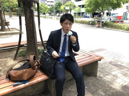 がりがり君にハマってます。大阪府新大阪|郡山市 新築住宅 大原工務店のブログ
