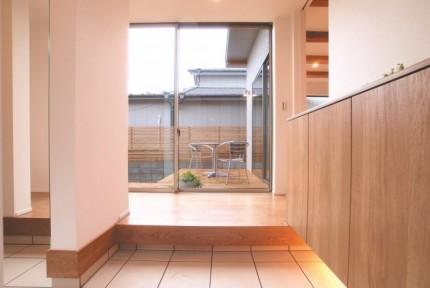 郡山市「中庭のある家」モデルハウス|郡山市 注文住宅 大原工務店のブログ