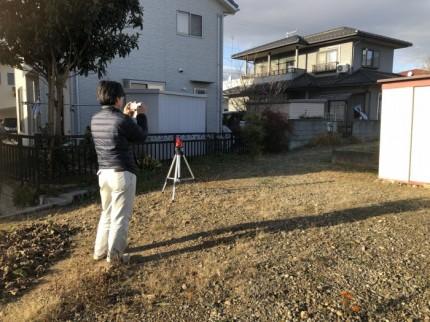 土地の全景、障害物を写真に収めていきます 岩瀬郡鏡石町| 郡山市 新築住宅 大原工務店のブログ