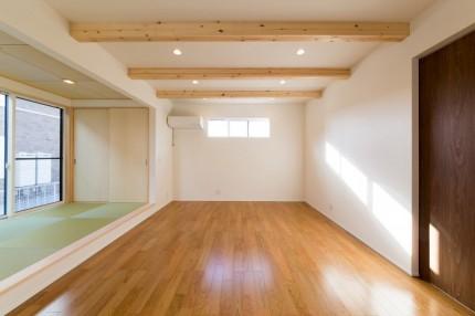 郡山市S様邸新築住宅リビングダイニング+畳コーナー|郡山市 工務店 大原工務店のブログ