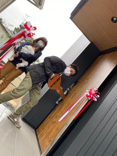 大原工務店光栄のビッグキーの登場です!| 郡山市 新築住宅 大原工務店のブログ