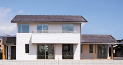 居心地の良い住まいをデザインする注文住宅- 外観-|郡山市 注文住宅 大原工務店 施工例