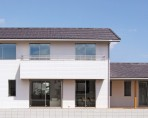 居心地の良い住まいをデザインする注文住宅- 外観- 郡山市 注文住宅 大原工務店 施工例