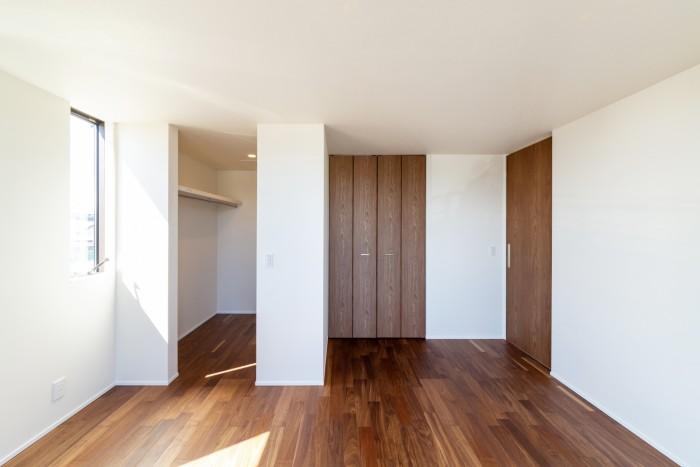 お客様邸の寝室です。| 郡山市 新築住宅 大原工務店のブログ