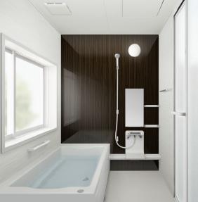 モデルハウス採用ハウステック浴槽