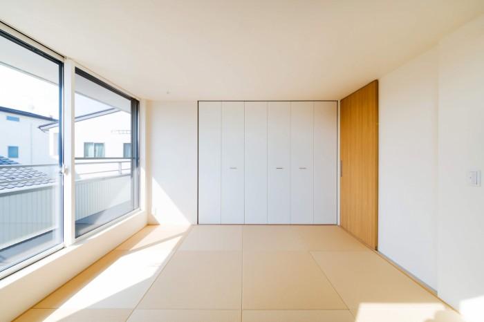 和室の寝室。| 郡山市 新築住宅 大原工務店のブログ