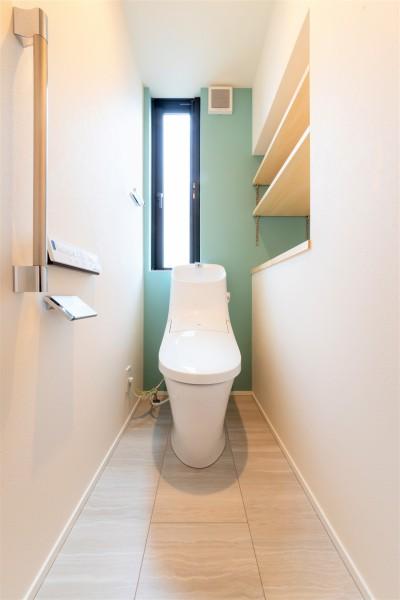 W様邸のトイレです。| 郡山市 新築住宅 大原工務店のブログ