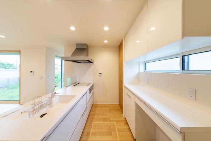 お客様邸のキッチンです。| 郡山市 新築住宅 大原工務店のブログ