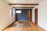 お客様邸のリビングルームです。| 郡山市 新築住宅 大原工務店のブログ