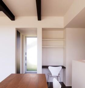 シンプルデザインを追求した注文住宅-ダイニング-|郡山市 注文住宅 大原工務店の施工例
