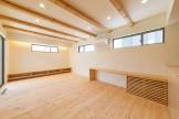 T様邸のリビングです。本宮市仁井田| 郡山市 新築住宅 大原工務店のブログ