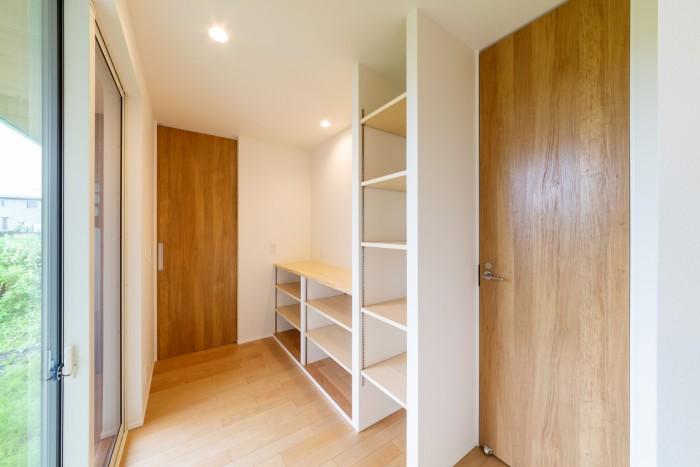 お客様邸の寝室横にあるフリースペースです。| 郡山市 新築住宅 大原工務店のブログ