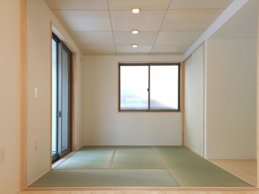 シンプルを追求した箱型住宅~和室~|郡山市 注文住宅 大原工務店 施工例