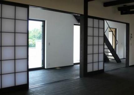 黒白のコントラストが美しい和の住まい-和室-|郡山市 注文住宅 大原工務店の施工例