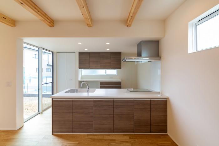 お客様邸のキッチンです| 郡山市 新築住宅 大原工務店のブログ