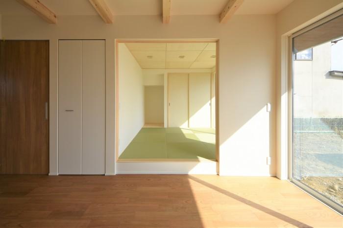 M様邸の小上がりの和室です!| 郡山市 新築住宅 大原工務店のブログ