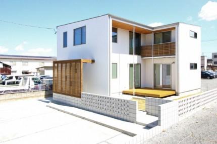 今回、見学会を行うお客様邸です。| 郡山市 新築住宅 大原工務店のブログ