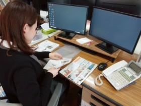 ニュースレター発送準備 郡山市 新築住宅 大原工務店のブログ