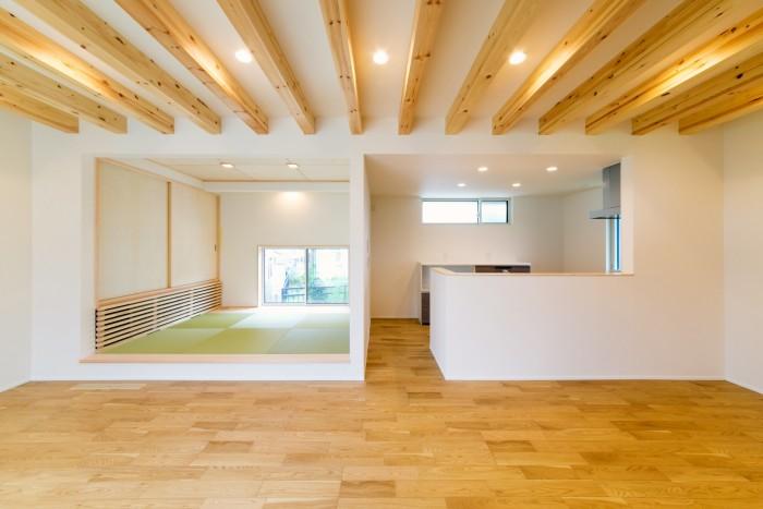I様邸のLDKです!| 郡山市 新築住宅 大原工務店のブログ