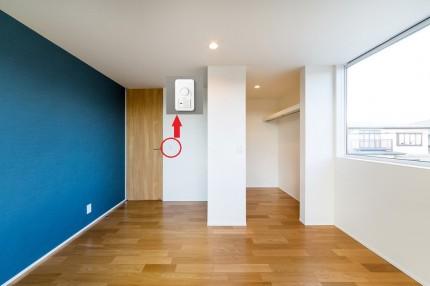 寝室にはこちら。|郡山市 新築住宅 大原工務店のブログ